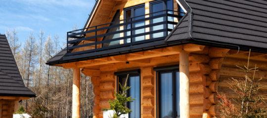 Maisons construites en bois