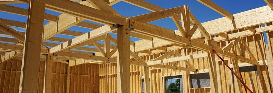 Une construction en bois